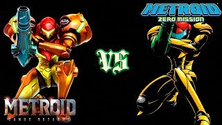 Metroid: Samus Returns VS Zero Mission (REVIEW/COMPARISON)