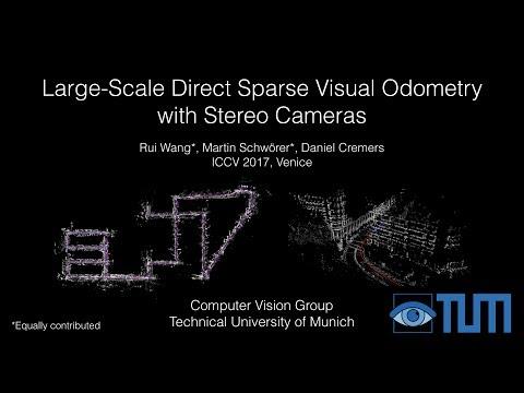 Computer Vision Group - Visual SLAM - DSO + Stereo