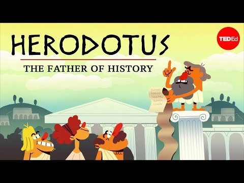 "Video image: Why is Herodotus called ""The Father of History""? - Mark Robinson"