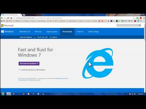 Download and Install Internet Explorer 11 on windows 7 (ie 11)