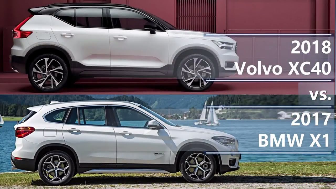 Range Rover Evoque >> 2018 Volvo XC40 vs 2017 BMW X1 (technical comparison) - YouTube
