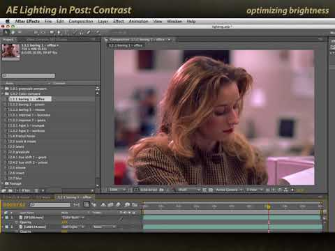 Adding Lighting Effects in Post 7/11: Contrast