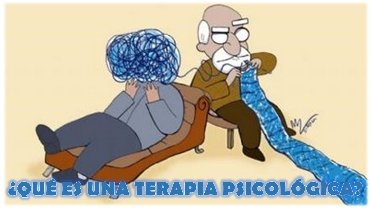 ¿Qué es una terapia psicológica? / What is a psychological ...