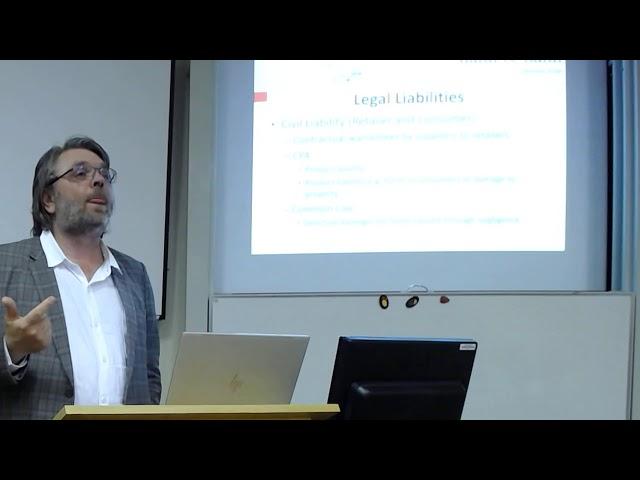 SAAFoST Presentation on Liability 16 October 2019