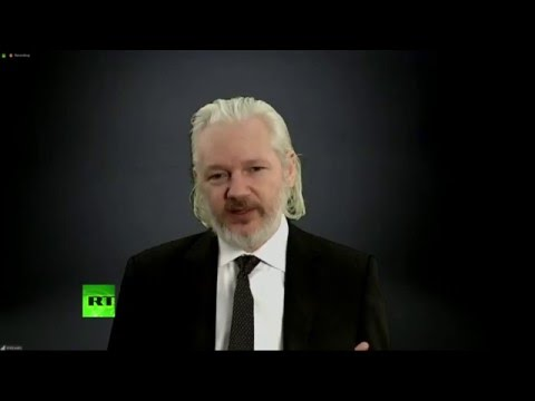 'Privacy is gone' - Julian Assange at #RT10