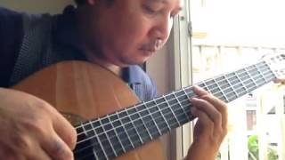 Buồn ơi, chào mi - Lê Hùng Phong - Guitar solo