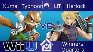 Typo @ The Lab 10/19/17 - Kuma| Typhoon (Fox) vs LiT | Harlock (Cloud) - Smash 4 Winners Quarters