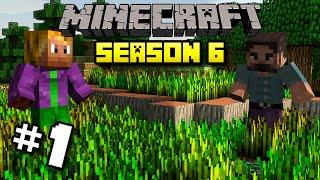 #1 Minecraft | WondermentMC Season 6 -  Lets Go Punch Some Trees