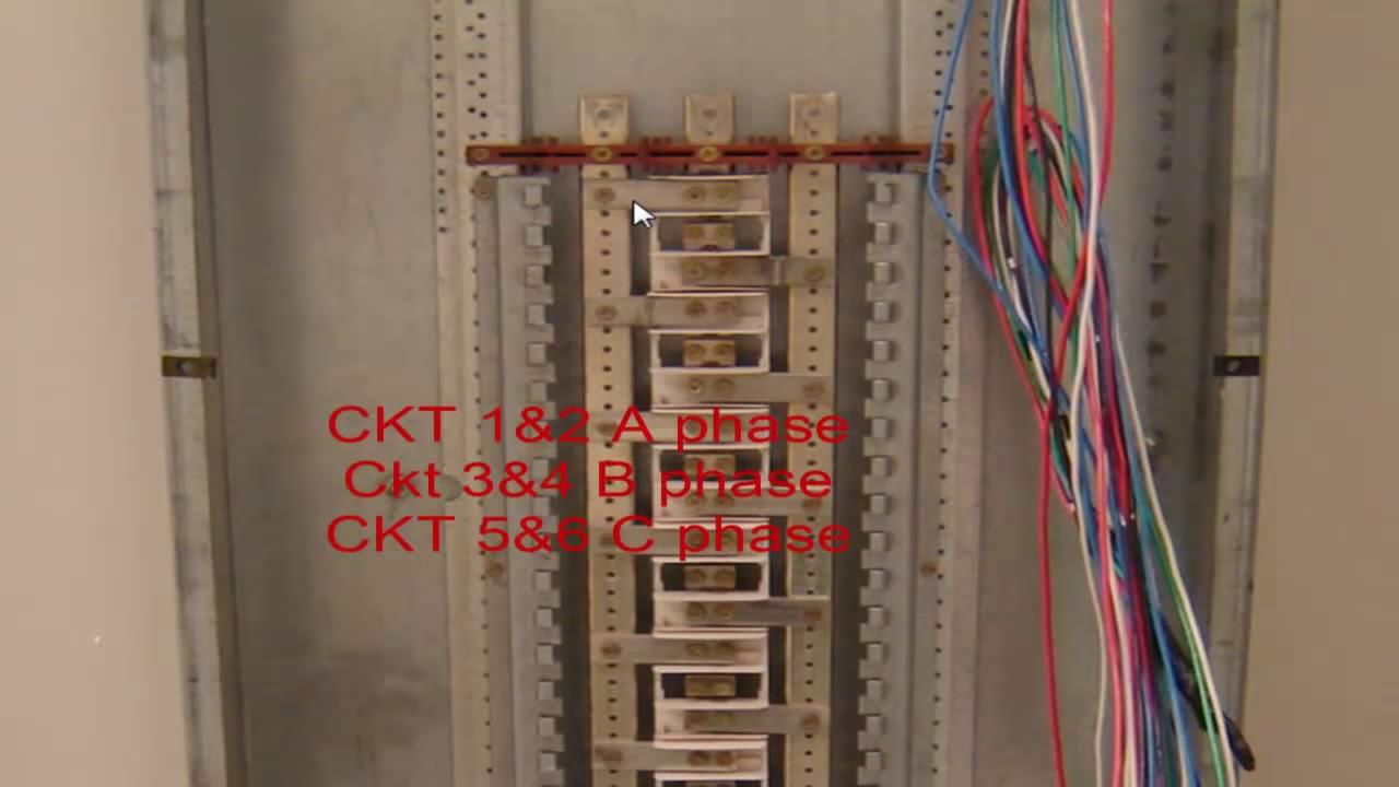 Electrical Wiring 3 Phase Panel Detail 1280x720