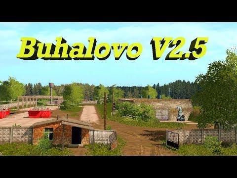 18+●Карта Buhalovo V2.5●Farming Simulator 17●Весна время полевых работ.