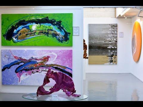 Walk Round An Award Winning Artist's Contemporary Art Gallery
