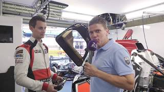24 Heures du Mans 2017 - Description d'un volant de course avec Oliver Jarvis