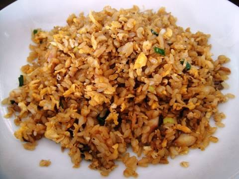 Dried fish fried rice recipe youtube for Fish fried rice