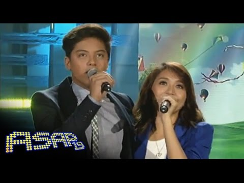 Kathryn & Daniel sing 'With a Smile' on ASAP