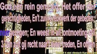 Psalm 4 vers 1,2,3 en 4 niet ritmisch karaoke Virtual pijp orgel Miditzer 260sp