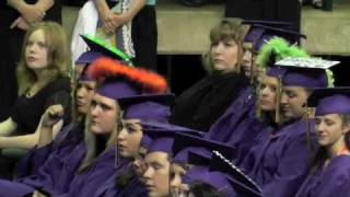 Sanger High School 2010 graduation-I