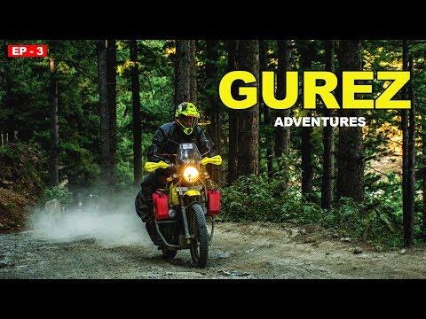Srinagar To Gurez Valley   Rajdan Pass   Kashmir   Leh ladakh Ride   Dal lake  