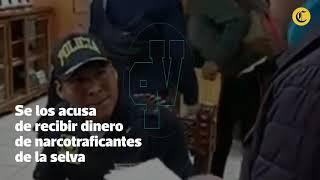 Policías bajo arresto   El Comercio