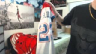 Unboxing: Michael Jordan Washington Bullets Throwback Nike Jersey (1080p)