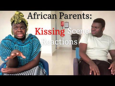 Download African Parents: Kissing Scene Reaction