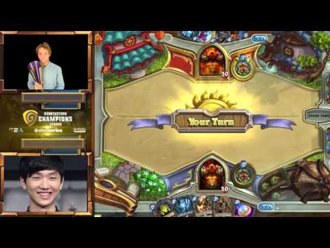 Hoej vs Surrender - Group A Losers Match - Hearthstone Champions League