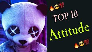 #trending top 10 attitude background musics || top 10 attitude ringtones || s.k top 10