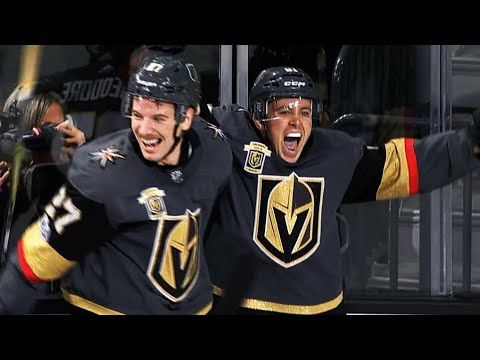 Marchessault jams in OT winner just before net comes off moorings