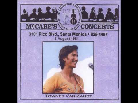 Townes Van Zandt August 01, 1981 McCabes, Santa Monica, CA