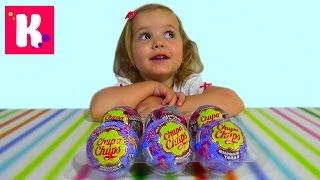 МЛП Монстер Хай Чупа Чупс шары с сюрприз игрушки MLP Monster High surprise balls toys