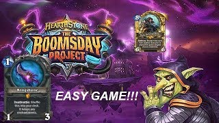 New KINGSBANE : Vs Tess ROGUE | BOOMSDAY Project 2018 | Hearthstone