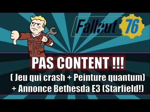 FALLOUT 76: PAS CONTENT !! (Jeu qui Crash + Peinture Quantum) thumbnail