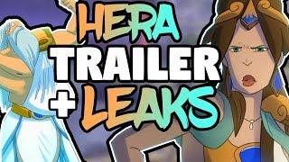 SMITE Hera New Trailer Released & More Ability Info
