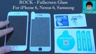 Rock - закаленное стекло для полного покрытия выпуклого (2.5D) дисплея(Купить стекла для разных смартфонов: Meizu Pro 5: https://goo.gl/VJp1Pl Meizu M3 Mini: 1. Mofi goo.gl/xalO8P 2. Noname goo.gl/tMpVX9..., 2016-04-27T18:06:47.000Z)