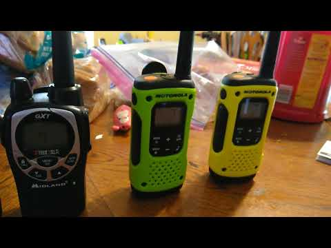 FRS and GMRS radios