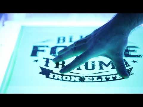 Iron Elite Apparel - Behind the Scenes. Screen Printing / T-Shirt Printing.