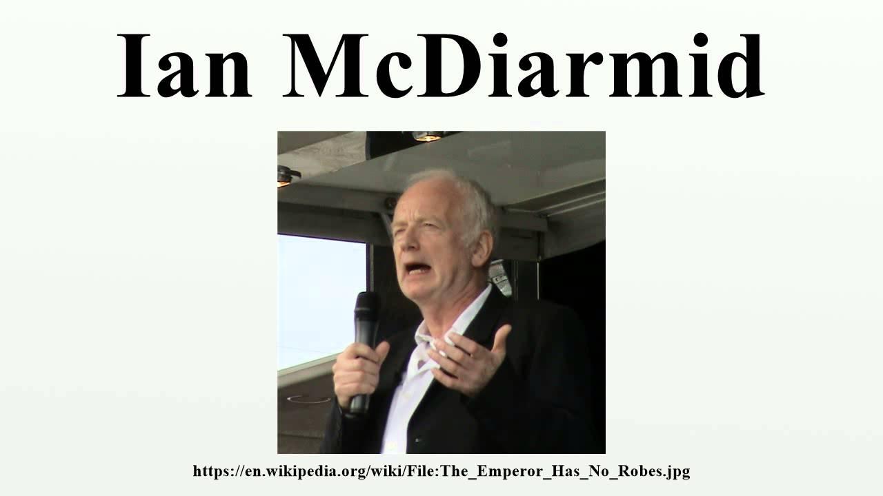 Ian McDiarmid (born 1944) Ian McDiarmid (born 1944) new photo