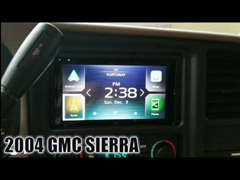 GMC Sierra Car Stereo Removal/ 2004 Chevy Silverado Car Stereo Removal