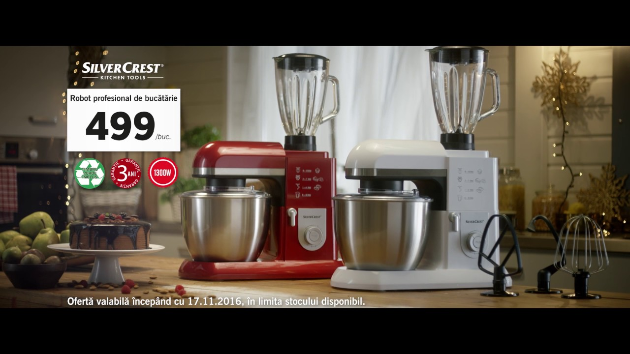 Pentru prepararea bunatatilor din 17 noiembrie 2016 for Robot de cocina silvercrest