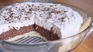 figcaption French Silk Chocolate Pie 프렌치 초콜릿 실크파이 | SweetHailey