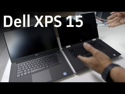 Dell XPS 15 unboxing and comparison to MacBook Pro 15 and XPS 15 2-in-1