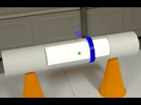 Hololens using LabVIEW for NDT Application
