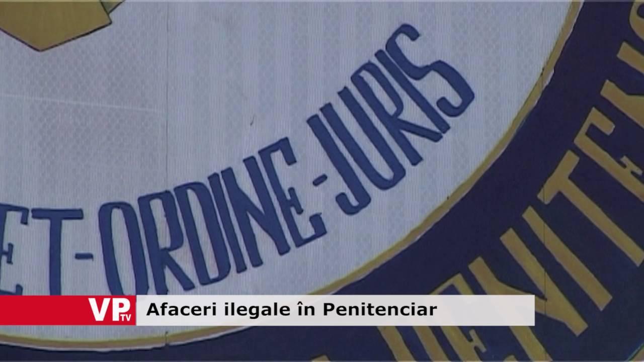 Afaceri ilegale în Penitenciar
