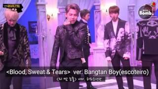 Download Video [Bangtan Bomb] Performance do coração com 'Blood, Sweat & Tears' [Legendado PT-BR] MP3 3GP MP4