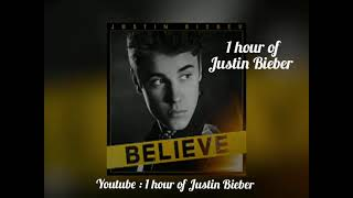 Justin Bieber - beauty and a beat 1 hour loop
