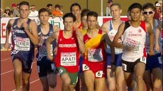 Boys 1500m at U18 European Champ - Győr 2018
