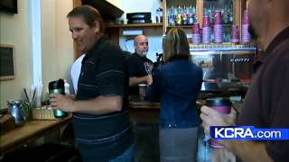 Small Stockton coffee shop brewing up business
