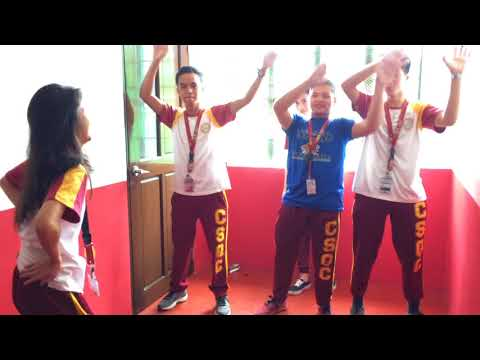 Titibo tibo Music Video cover from Coronado's School of Quezon City