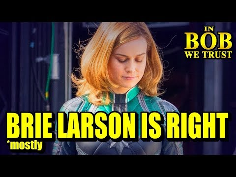 In Bob We Trust  BRIE LARSON IS mostly RIGHT