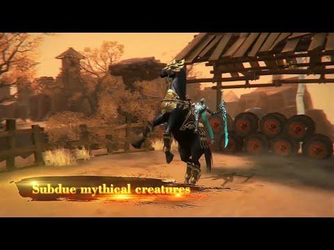 The slash feedback revolution of MMO 'Loong Origin: Clash' game video