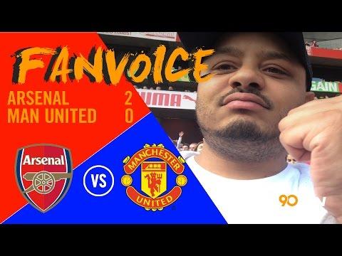 Welbeck goal destroys Manchester United!, Arsenal 2-0 Man United | 90min FanVoice